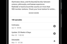 podcasts on android you can now play podcasts directly from s search app for