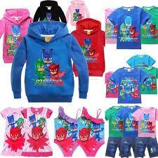 boy pj masks shirts u0026 tops 2 16 girls ebay