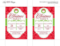 christmas party flyer publisher template template idea