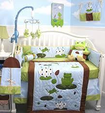 Soho Crib Bedding Set Soho Froggies Baby Crib Nursery Bedding Set 13