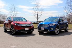 ford escape 2017 honda cr v vs 2017 ford escape autoguide com news