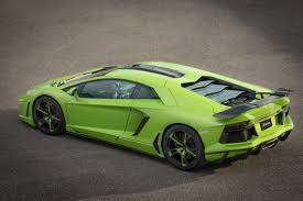 Lamborghini Aventador Neon - fab design spidron based on lamborghini aventador