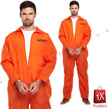 prison jumpsuit costume up of prison suit condemned patriot awakened