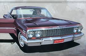 chevy impala 1963 chevrolet impala coupe u2013 ted nasmith