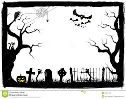 Free Halloween Border spooky halloween background stock vector image 44621481