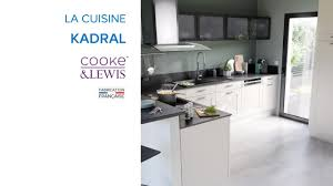 Cooke And Lewis Kitchen Cabinets Cuisine Kadral Cooke U0026 Lewis Castorama Youtube