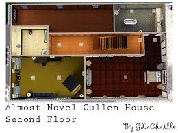 Twilight House Floor Plan Cullen House Floor Plan Sims 3