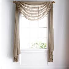 impressive sheer bathroom window curtains best 20 window scarf
