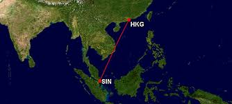 Singapore Air Route Map by Singapore Airlines 856 Sin U2013 Hkg Travelwerke