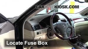 lexus 2006 rx330 interior fuse box location 2002 2006 lexus es330 2004 lexus