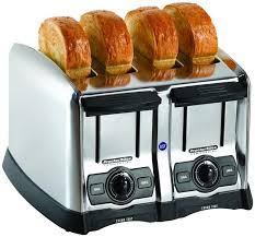 Toaster Brands Proctorsilex Commercial Bagel Bread Toaster 4 Slices Item 24850
