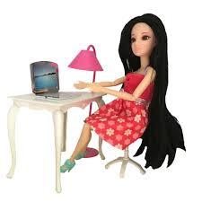 aliexpress com buy doll furniture desk lamp laptop chair