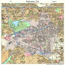 map of pomona california pomona california map 0658072