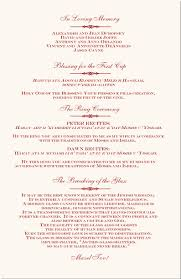 one page wedding program beautiful wedding program template ideas styles ideas