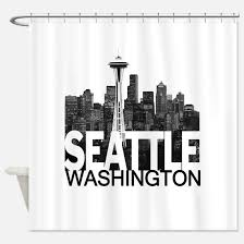 Curtains Seattle Seattle Shower Curtains Seattle Fabric Shower Curtain Liner