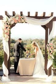 wedding arches calgary wedding arch decorations fabric outdoor fall and altar ideas