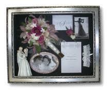 bouquet preservation glass box flower preserve keepsake