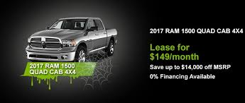 dodge ram 0 financing promo 2017 bertera chrysler jeep dodge ram and fiat of