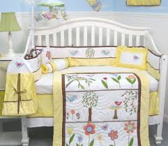 yellow baby bedding for the neutral nursery