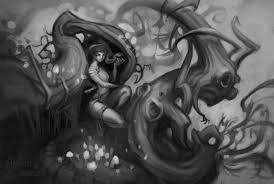 anessa silzer forest medusa sketch
