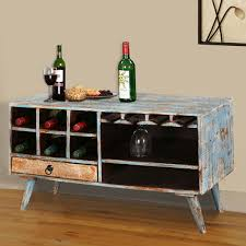 wine rack console table trail open storage wine rack console table with glass stem