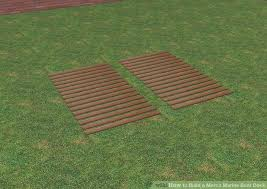 how to build a merco marine boat dock with pictures wikihow