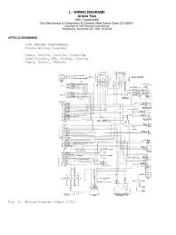 toyota corolla electrical wiring diagram wiring diagrams
