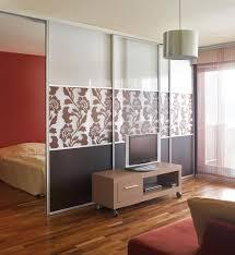 decorating astonishing bedroom design with modern sliding door as