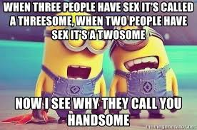 Threesome Memes - when three people have sex it s called a threesome when two people