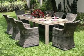 best outdoor furniture furniture round table 6 chairs best patio