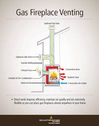 Direct Vent Fireplace Insert by Direct Vent Gas Fireplace Venting Explained Direct Vent Gas