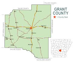 Arkansas State Map With Cities by Floodplain Grant County Arkansas Est 1869