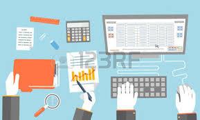 affaires de bureau concept d entreprise de travail en équipe design plat affaires de