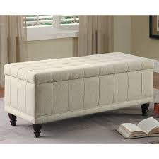 Leather Storage Bench Bedrooms Stunning Bed Bench Upholstered Bed Bench Leather