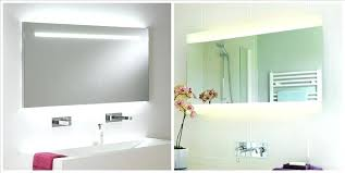 bathroom mirrors with lights behind light behind mirror lightweight framed wall mirrors d lights behind