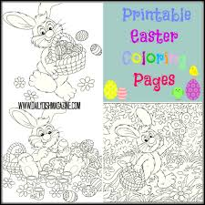 fun for the kids free easter coloring printable u0027s daily dish