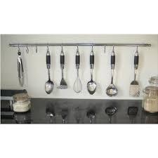 accessoire de cuisine barre murale support de rangement pour ustensiles achat vente