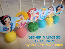 Halloween Cake Pops Pictures by Disney Princess Cake Pops By Elaine U0027s Cake Pops Pint Sized Baker