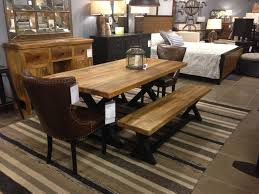 Dining Chairs Dining Room Trestle Table Rustic Modern Furniture