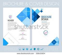 flyer graphic design layout business brochure flyer booklet design layout stock vector hd