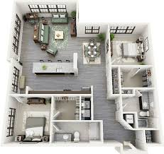 3d apartment 19 awesome 3d apartment plans with two bedrooms part 1
