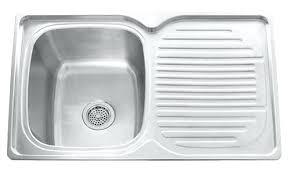 Single Kitchen Sinks Single Bowl Sink With Drainboard Single Bowl Sink With Drainboard