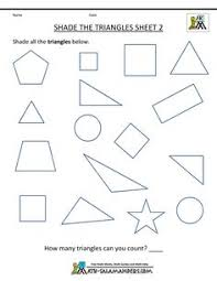 worksheet shapes range shape worksheet packet of 8 shapes triangle oval circle