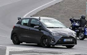 five door 2018 toyota yaris grmn snapped in europe