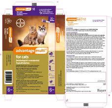 advantage multi for cats imidacloprid moxidectin topical solution