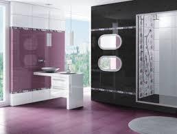 modern line burgundy striped bath accessories bathroom decor