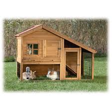 Two Story Log Homes Trixie Natura Two Story Sloped Roof Rabbit Hutch With Run Petco