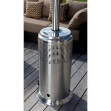 Living Flame Patio Heater by Steel Pro Series Patio Heater