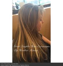 Hair Extension Lenghts by Sullo Salon U0026 Day Spa Hair Extensions