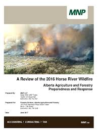 Type 1 Wildfire Definition by 2016 Horse River Wildfire Review Wildfire Alberta